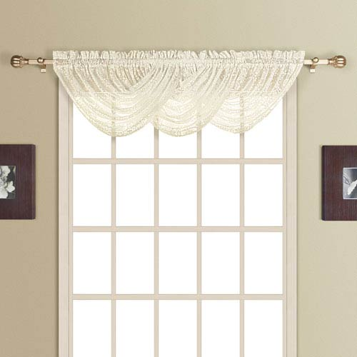 New Rochelle Natural 38 x 44 In. Topper