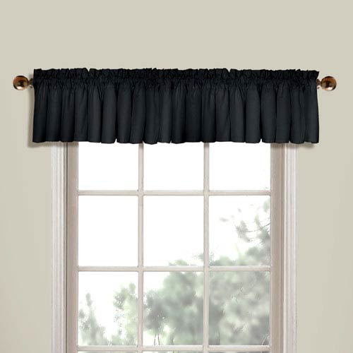 Westwood Black 16 x 56 In. Topper