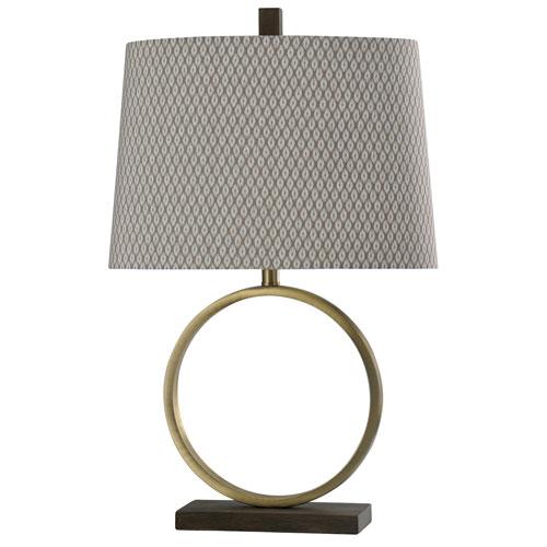 StyleCraft Bryan Keith Brass Finish One-Light Table Lamp