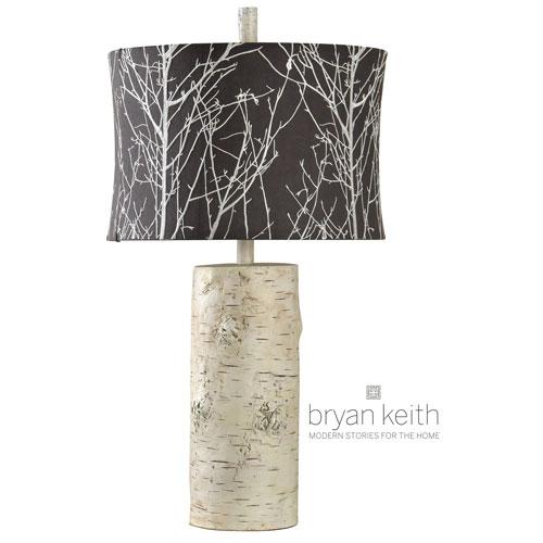 Bryan Keith Berkeley Natural Wood One-Light Table Lamp