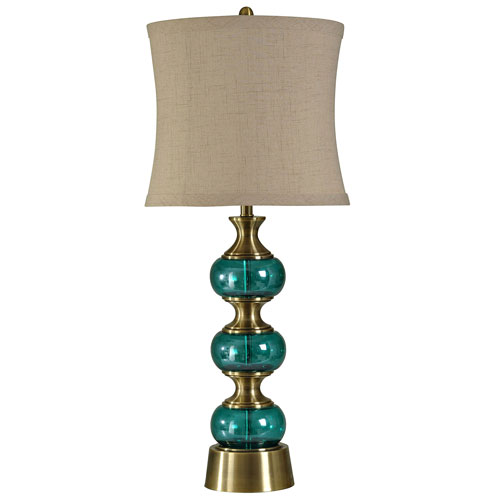 Teal Table Lamp Bellacor
