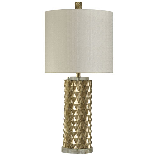 StyleCraft Gold One-Light 32-Inch Table Lamp