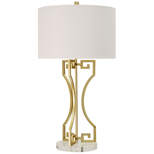 Greek Gold 30-Inch One-Light Table Lamp