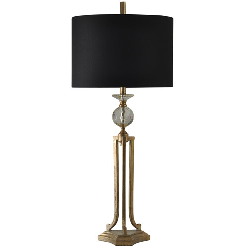 Vintage Gold One-Light 38-Inch Table Lamp