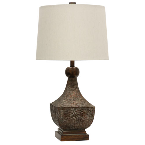 Brown One-Light 32-Inch Table Lamp