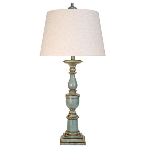Avignon Blue One-Light Table Lamp
