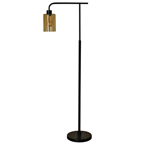 StyleCraft Restoration Bronze One-Light Floor Lamp