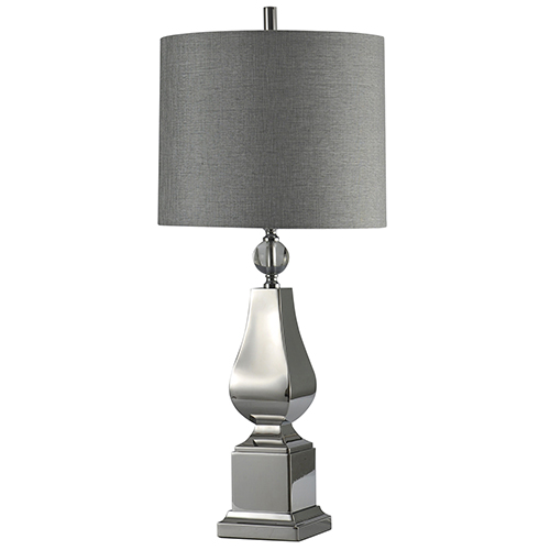 Irving Silver One-Light Table Lamp