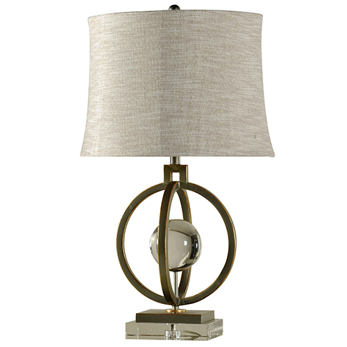Paris Tin And Gold One-Light Table Lamp