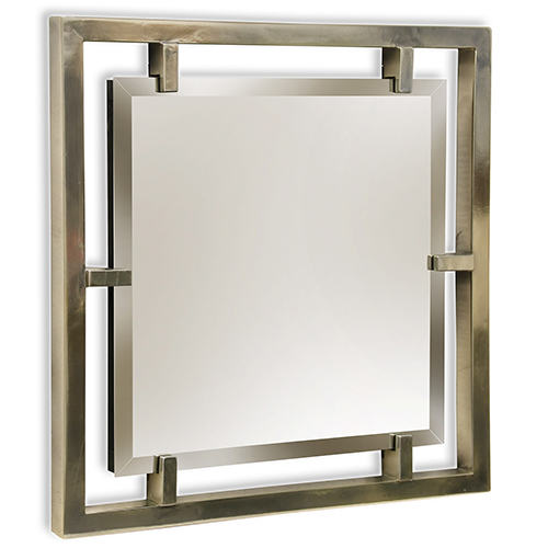 Henry Plated Silver Mirror