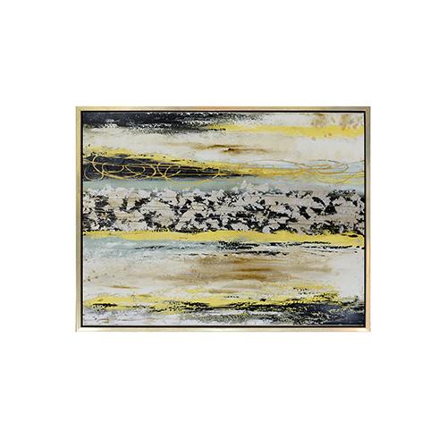 Tango Multicolor Framed Canvas Art