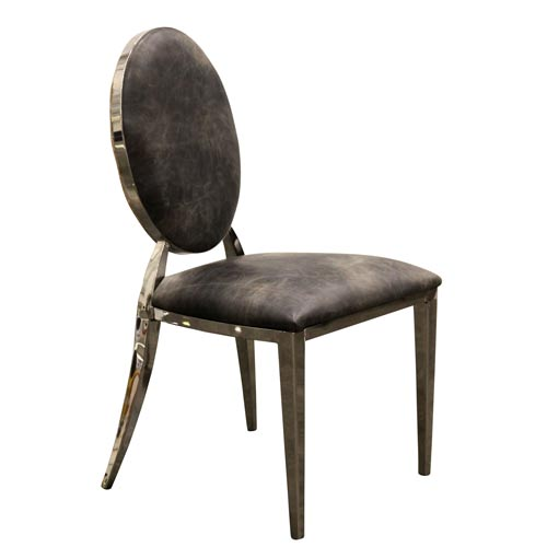 Nelson Smoke Gray Side Chair