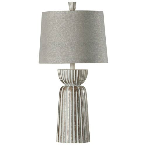 StyleCraft Mcallen Silver One-Light Table Lamp