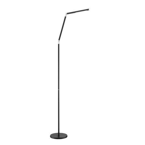 Biju Black 55-Inch Integrated LED Adjustable Floor Lamp