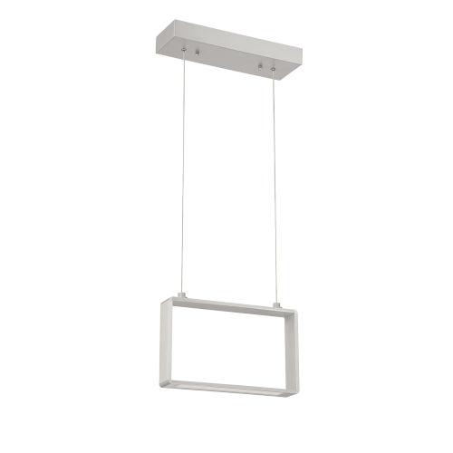 Quadron Aluminum 13-Inch Integrated LED Pendant