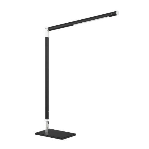 Biju Black 17-Inch Integrated LED Adjustable Desk Lamp