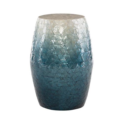 Remi Blue Ombre Drum Table