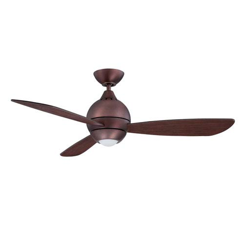Kendal Lighting Sphere 2 44-Inch Oil Brushed Bronze with Matching Blades LED Ceiling Fan