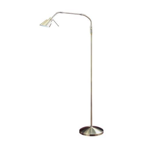 Oslo Antique Brass One-Light Floor Lamp