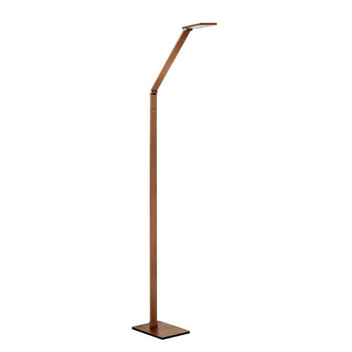 Reco Russet Bronze LED Floor Lamp