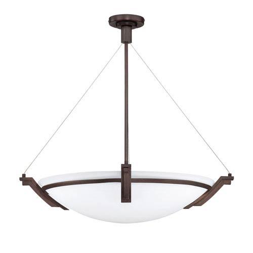 Portobello Oil Rubbed Bronze Six-Light 28-Inch Pendant