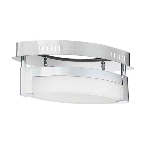 V2 Chrome LED Flush Mount