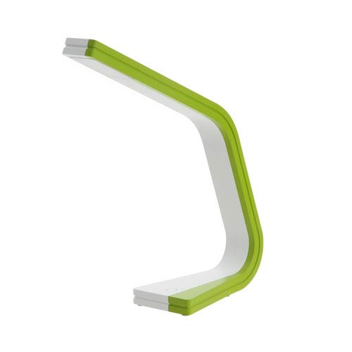 Zig Green and White One-Light LED Task Lamp