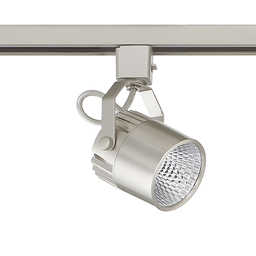 Satin Nickel LED Track Head