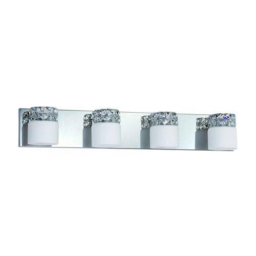 Kendal Lighting Vellase Chrome Four-Light Vanity