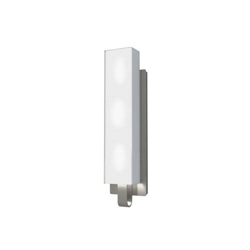 Kendal Lighting Larissa Satin Nickel Three-Light Vanity