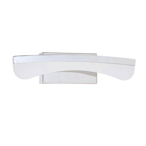 Kendal Lighting Bow Chrome LED 18-Inch Bath Light
