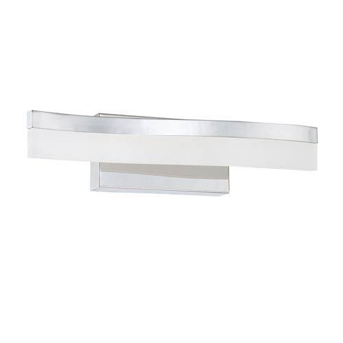 Kendal Lighting Cerv Chrome LED 18-Inch Bath Light