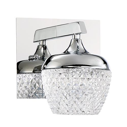 Arika Chrome LED Bath Sconce