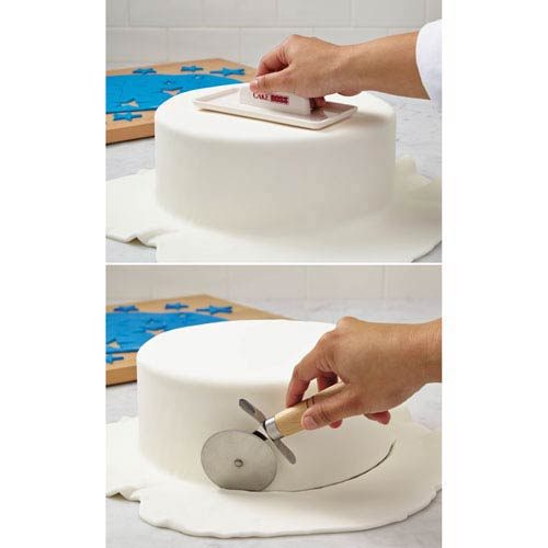 Cream Plastic Fondant Smoother