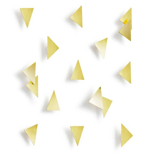 Umbra Confetti Triangles, Set of Sixteen