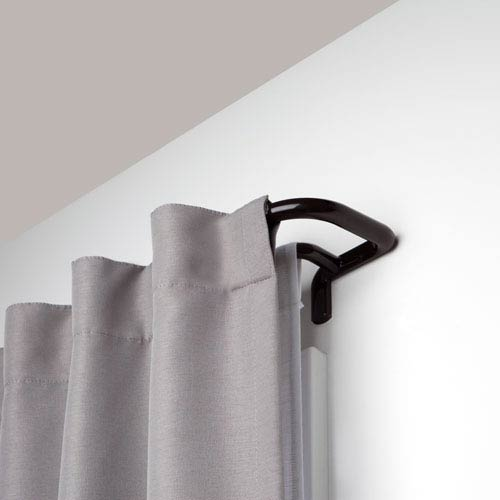 Twilight Auburn Bronze 88-144 In. Double Curtain Rod