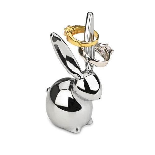 Zoola Chrome Bunny Ring Holder