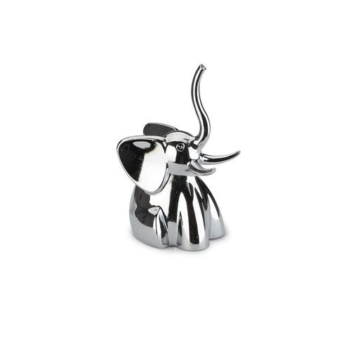 Zoola Chrome Elephant Ring Holder