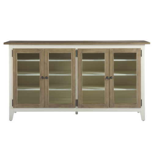 Curated Terrace Gray Entertainment Console