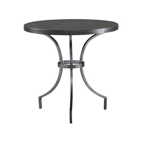 Universal Furniture Curated Greystone Eliston Round End Table