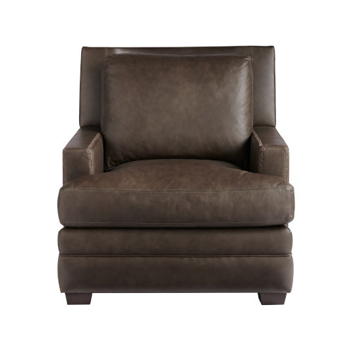 Kipling Bronze Moore Giles Leather Accent Chair