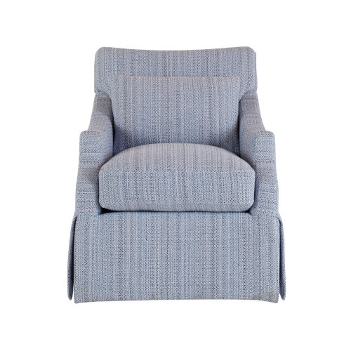 Margaux Gray Polyester Accent Chair