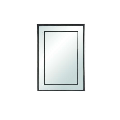 Midtown Matte Black Mirror