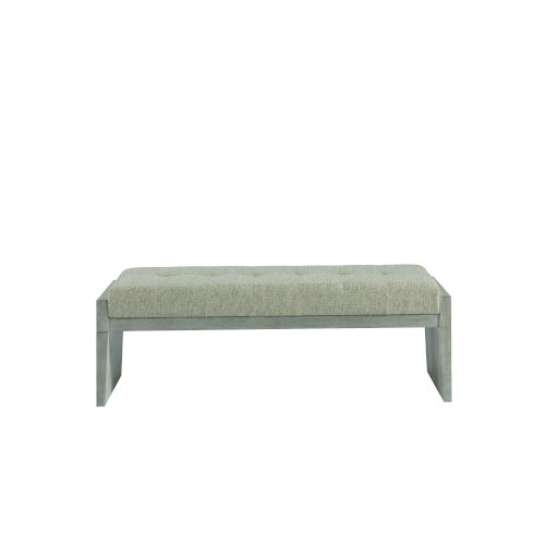 Midtown Flannel Bed End Bench