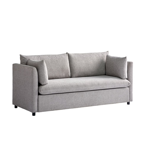 Gray Young House Love Mellow Fabric Sofa
