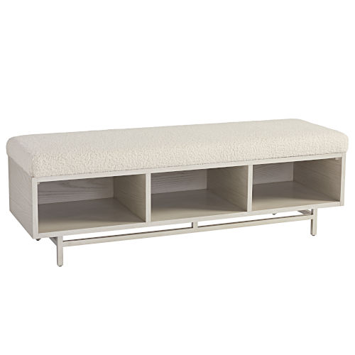 Paradox Ivory Bed End Bench