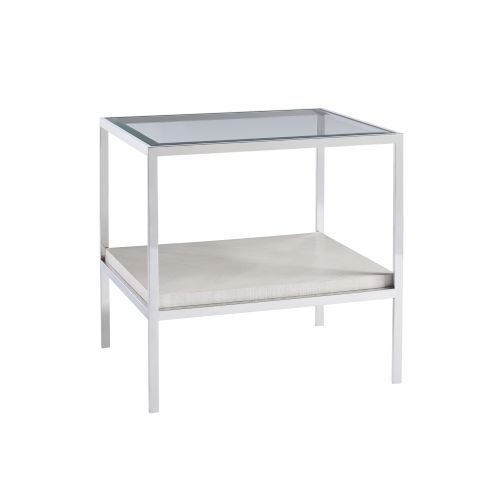 Paradox Ivory End Table