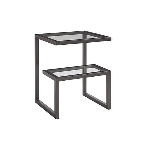 Universal Furniture Denison Bronze End Table