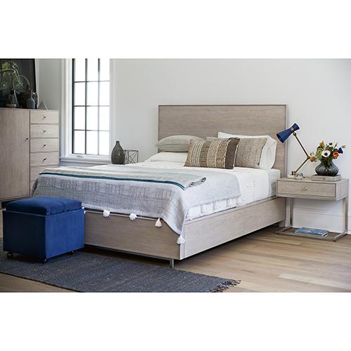 Tanner Grey Complete Queen Bed