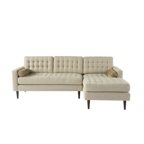 Beige Contemporary Sofas And Sectionals Free Shipping | Bellacor